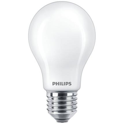 Philips LED Lamp E27 7W Peer mat dimbaar
