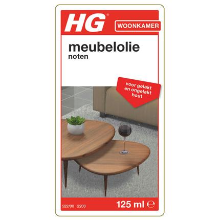 HG meubelolie voor noten 140ml
