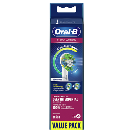 Oral-B FlossAction Tandenborstel 4 Stuks 80339419