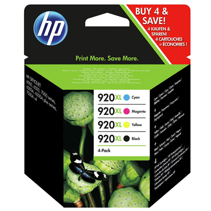 HP 920 XL 4-Pack