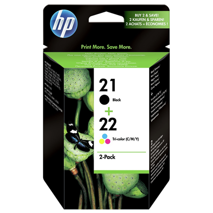 HP 21+22 2-Pack