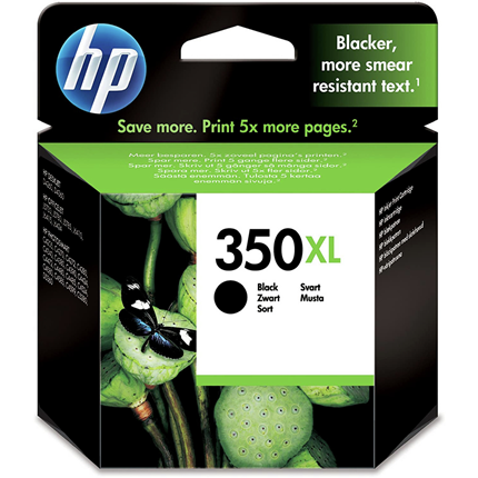 HP 350 XL Black
