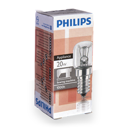 Philips Naaimachinelamp 20W-E14