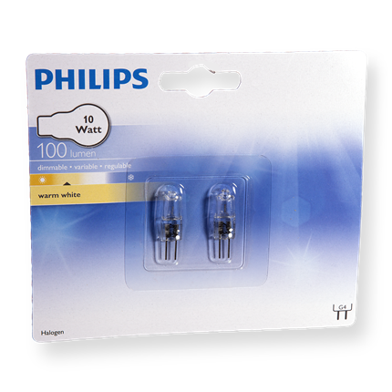 Philips Halogeen  Capsule 10W-G4