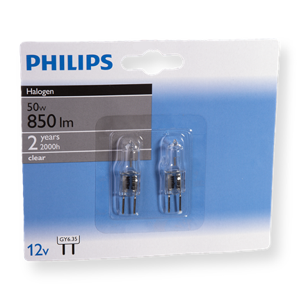 Philips Halogeen Capsule 50W-GY6.35