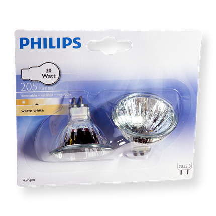 Philips Halogeen Reflector 20W-G5.3