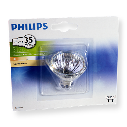 Philips Eco Halogeen  Reflector25W-GU5.3