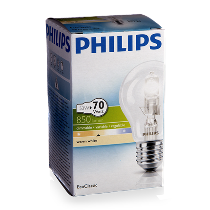 Philips Eco Halogeen Classic 53W-E27