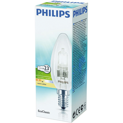 Philips Eco Halogeen Kaars 18W-E14