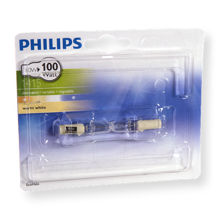 Philips Eco Halogeen Staaf 80W-R7s