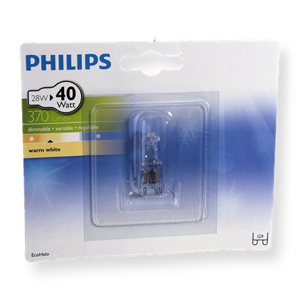 Philips Eco Halogeen Capsule 28W-G9