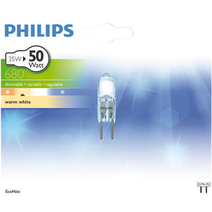 Philips Eco Halogeen 35W-GY6.35
