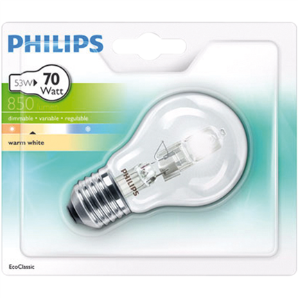 Philips Eco Halogeen 53W-E27