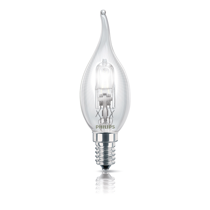 Philips Halogeenlamp Kaars Tip E14 28W