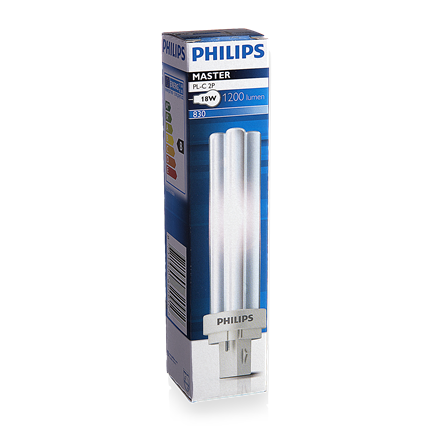 Philips PLC 830 18W-2Pins