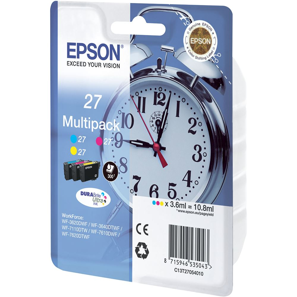 Epson Cartridge 27 Multipack