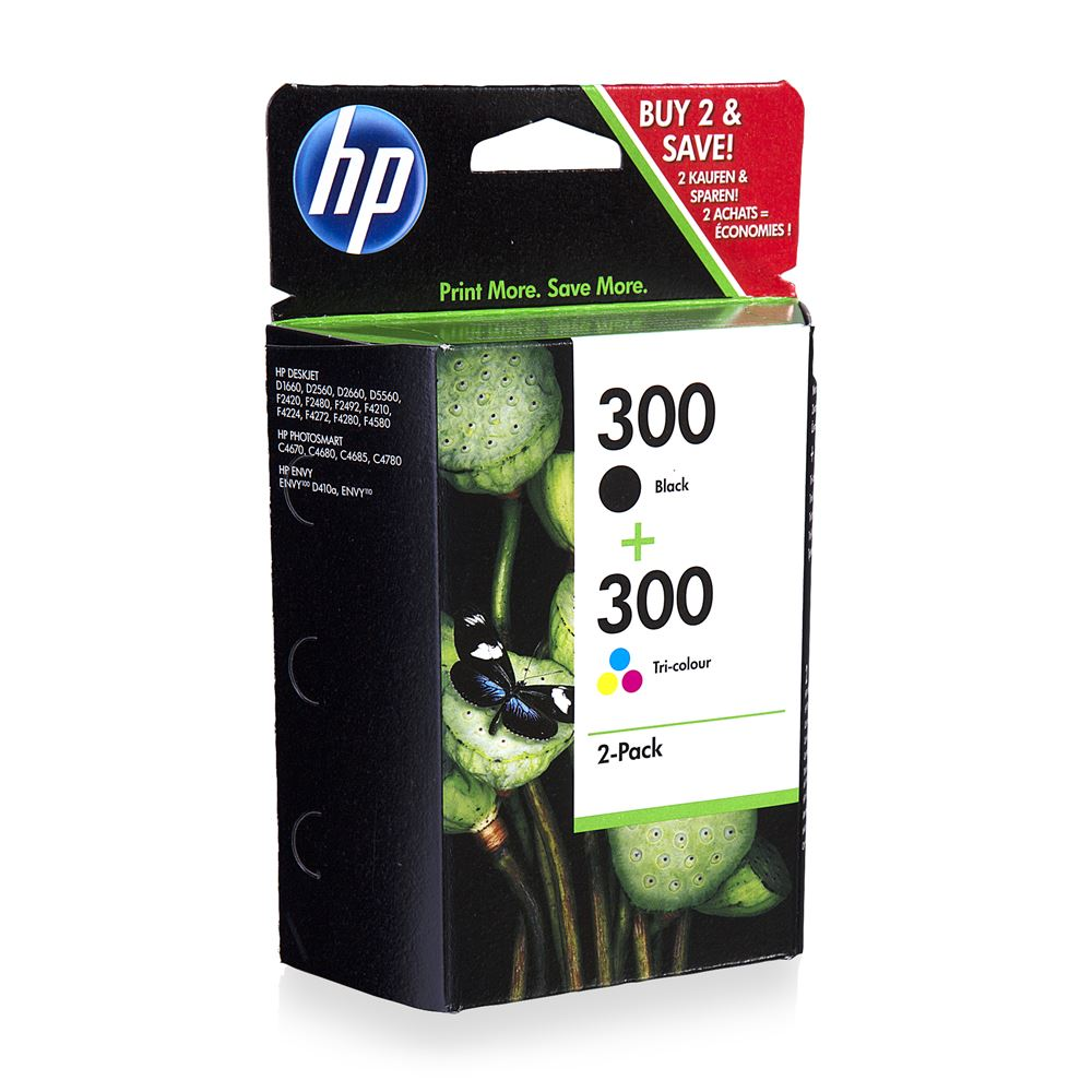 HP 300 2-Pack