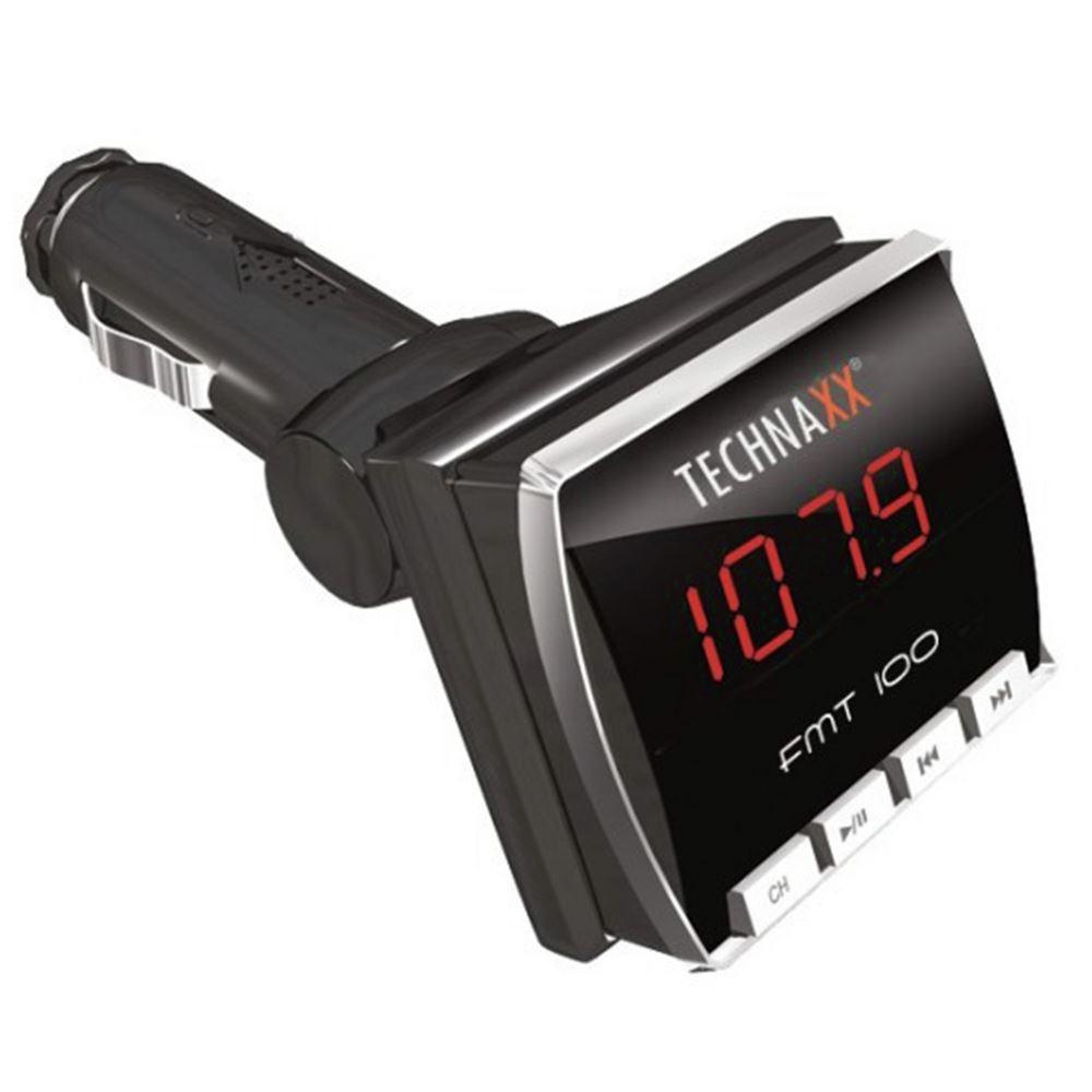 Technaxx FM transmitter auto + afstandsbediening