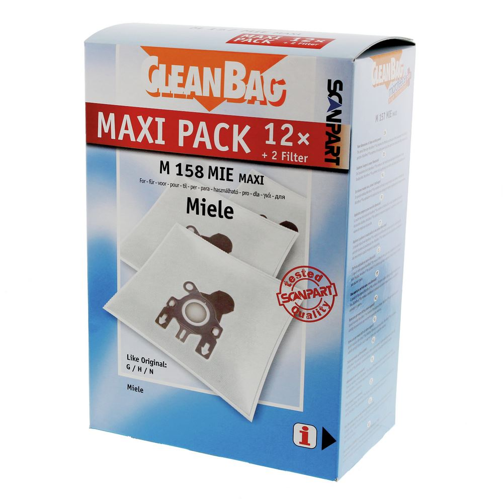 Scanpart Stofzuigerzakken M158MIE Maxi 12 stuks