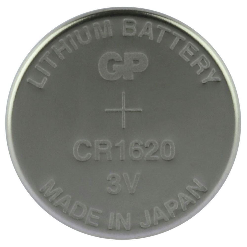GP CR1620 Knoopcel Lithium Batterij
