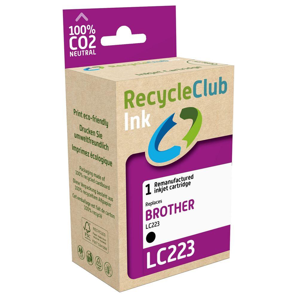weCare Cartridge Brother LC223 Zwart