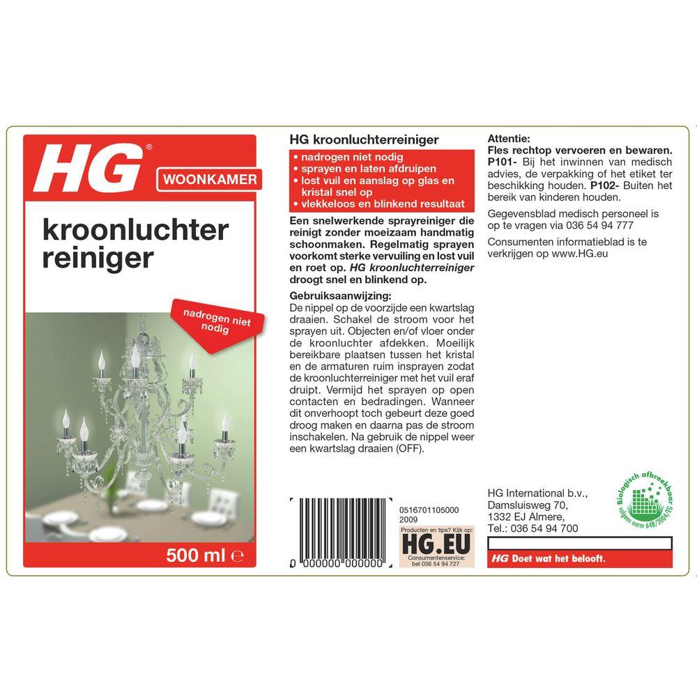 HG Kroonluchter Sprayreiniger