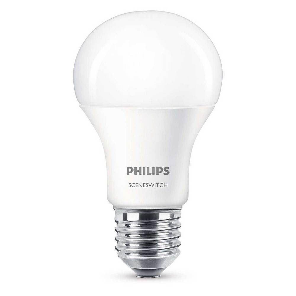Philips LED lamp E27 9,5W Scene Switch