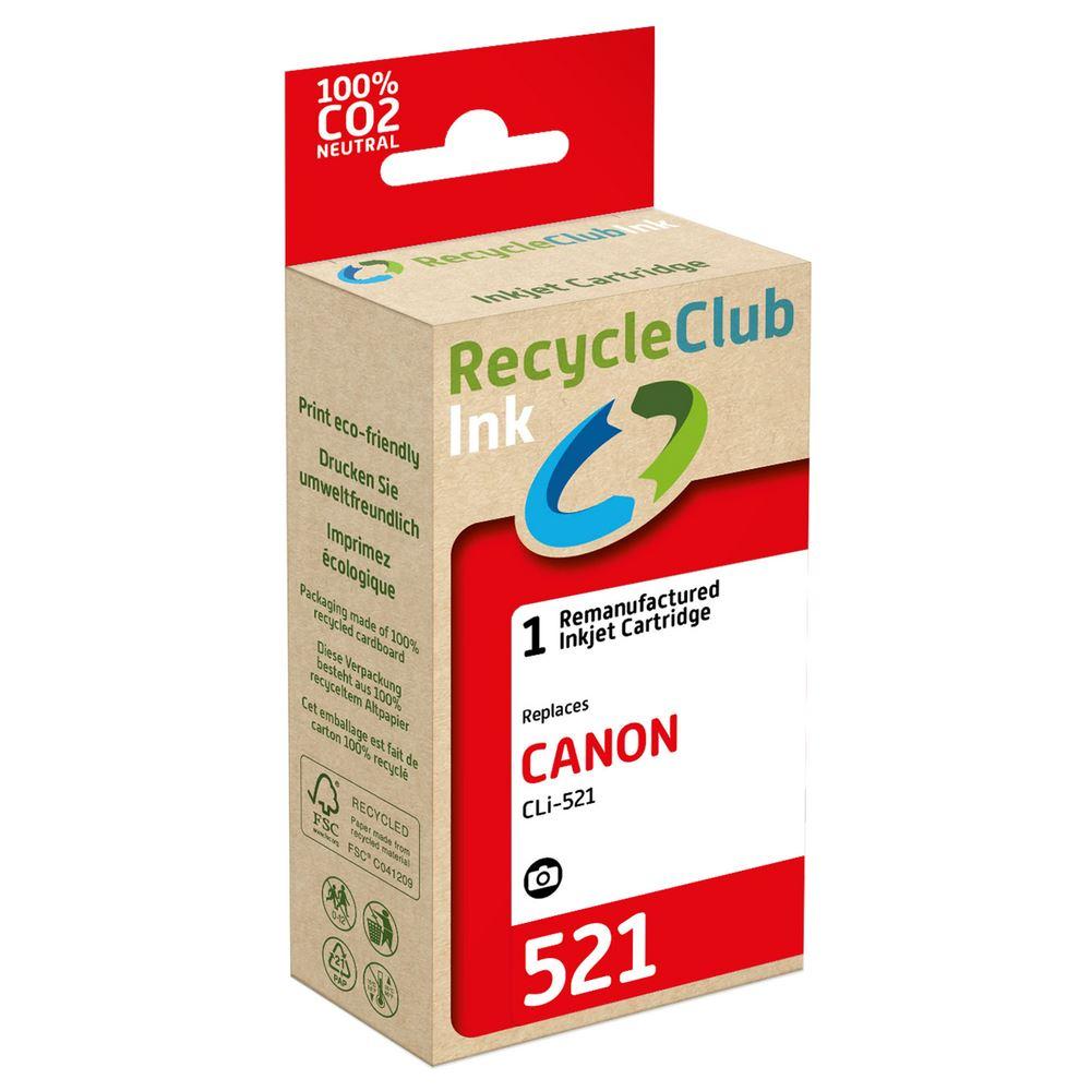 weCare Cartridge Canon CLI-521 Zwart