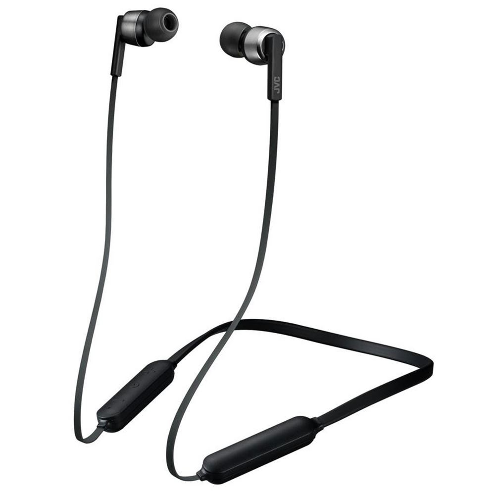 JVC draadloze hoofdtelefoon in-ear HA-F45BT-B zwart