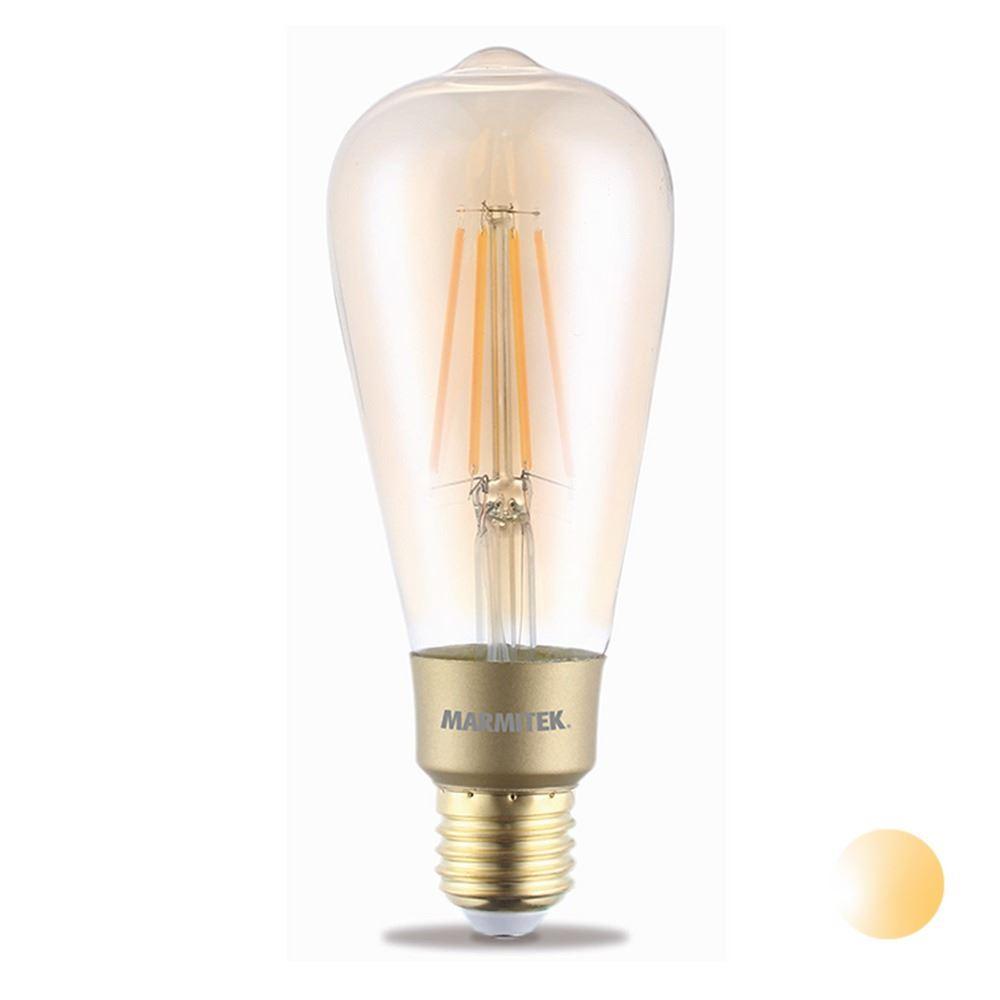 Marmitek LED Filament lamp E27 6W Dimbaar