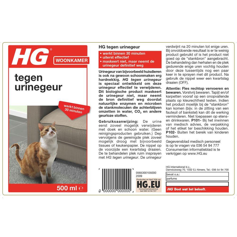 HG Tegen Urinegeur