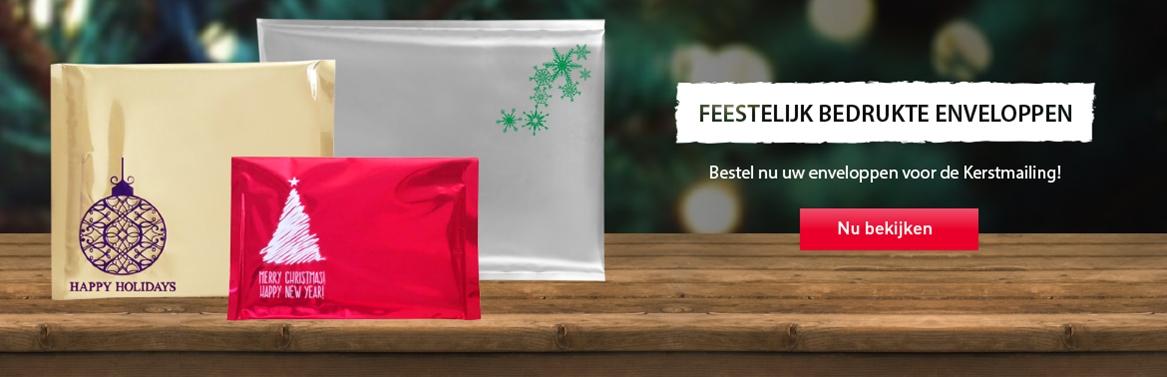 bedrukte enveloppen voor kerst