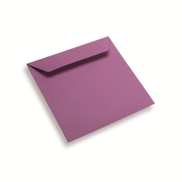 Coloured Paper Envelope Purple