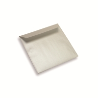Coloured Paper Envelope 155 mm x 155 mm Pearl White