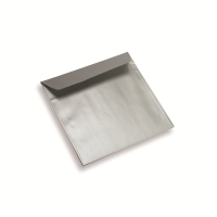 Coloured Paper Envelope Silver