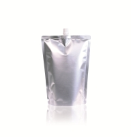 Spoutbag ø 0.04 in 6.50 inch x 9.06 inch Silver