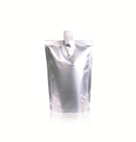 Spoutbag ø21.8mm (1000ml) 165 mm x 230 mm Silver