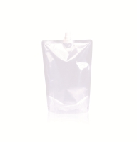 Spoutbag ø10 mm (1000ml) 165 mm x 230 mm Transparent