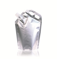 Spoutbag ø21.8mm (2500ml) 204 mm x 302 mm Silver