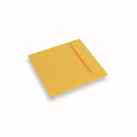 Coloured Paper Envelope Yellow