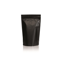 Lamizip Colour Stand Up Pouches 6.65 inch x 10.12 inch Black