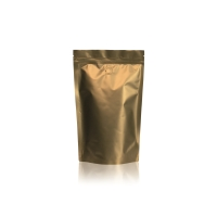 Lamizip Colour Stand Up Pouches 6.65 inch x 10.12 inch Gold