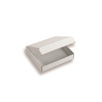 Folding Boxes 5.43 inch x 5.43 inch White