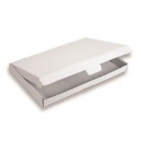 Folding Boxes 12.20 inch x 8.66 inch White