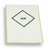 Label UN3245 Vit