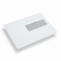 Paper Envelope Window Right A5/ C5 White