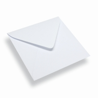 Paper Envelope Square White