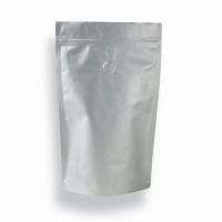 Lamizip Colour Stand Up Pouches 6.65 inch x 10.12 inch Silver