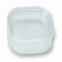 Membrane Box 1.54 inch x 1.54 inch Transparent