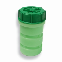 Grön DG Container (500ml) 64 mm x 155 mm Grön